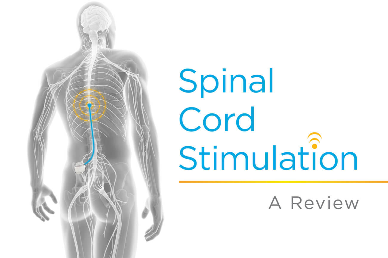Banner for Spinal Cord Stimulation-A Review-Blog-X Ray image of human body with SCS device implanted