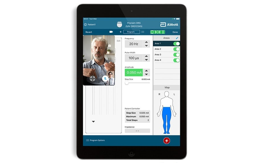 NeuroSphere Remote Care Example-Tablet